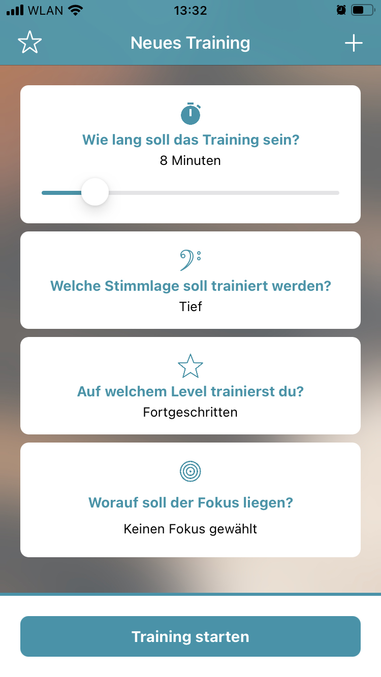 early screenshot_German